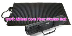 The GoFit Ribbed Core Floor Fitness Mat has been designed as the perfect accessory for those looking to spend more time on floor exercises and low impact workouts. Home Workout Equipment, Fitness Equipment, Workout Gear, Fitness Mat, Health Fitness, Floor Workouts, At Home Workouts, Workout Essentials, Low Impact Workout