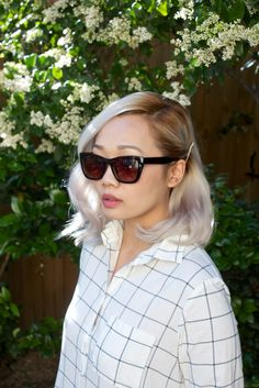 Simple Down Do. Inspired by L'Oreal Advanced Hairstyles Bright Blonde, Blonde Color, Hair Colour, Hairstyles With Bangs, Trendy Hairstyles, Hair Cut Lengths, Platinum Hair Color, Pure Platinum, Silver White Hair