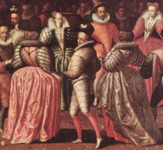 Ball at the Court of Henry III of France,circa 1580