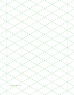 This LetterSized Graph Paper Has Four Aqua Blue Lines Every Inch