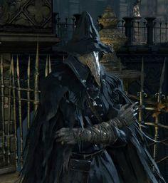 Eileen the Crow from Bloodborne: Inspiration für Skul