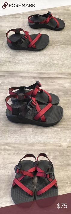 ae3504910b1 Chaco Z 1 Classic Red Women s Sandals 6 Up for sale is a pair of