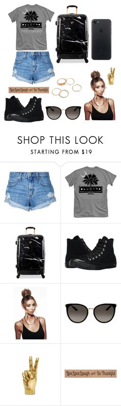 """Без названия #39"" by seyidli-mehri ❤ liked on Polyvore featuring Nobody Denim, Heys, Converse, Gucci and DutchCrafters"
