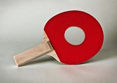 A ping pong paddle with a hole in it. (Photo by Giuseppe Colarusso/Caters News) avaxnews.me/appealing/Impossible_Objects_by_Giuseppe_Colarusso. Everyday Items, Everyday Objects, Les Inventions, Blog Fotografia, Photoshop, Italian Artist, Photo Series, Creative Photos, Photo Manipulation