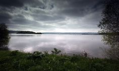 Clouds gather over the water at Chew Valley lake in Somerset. Photograph: Matt Cardy/Getty Images