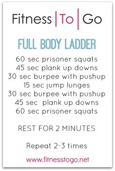 Ladder Workout