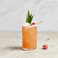A kitsch classic, the Jungle Bird was invented in 1970s Malaysia and his since become a cult favourite in the recent cocktail revival. It's partly due to the unusual combination of rum and Campari; partly because it's so damn delicious; and partly because it's so easy to make, even when half cut.