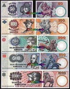 denmark currency | Denmark banknotes - Denmark paper money catalog and Danish…