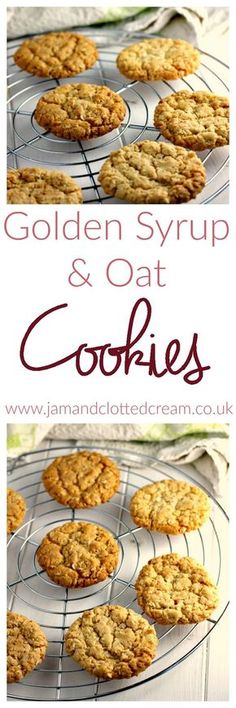 Golden Syrup and Oat Cookies biscuit recipe;canned biscuit recipes; Oat Cookie Recipe, Oat Cookies, Galletas Cookies, Biscuit Recipe, Cookie Recipes, Dessert Recipes, Biscuit Bar, Baking Cookies, Cookie Ideas