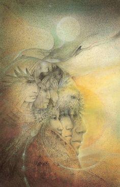 """""""The Ancient Ones"""" par Susan Seddon Boulet"""