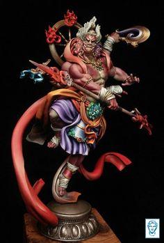 Lord Shiva Hd Wallpaper, Vision Art, Fantasy Figures, Thai Art, Fantasy Illustration, Indian Gods, Sculpture Clay, Japan Art, Sculpting