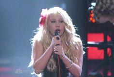 Raelynn from the voice has my dream hair. :)