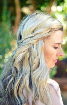 Romantic hairstyle with various braids <3 #classic #braid #braided #bun #updo #hair #hairstyle #hairstyles #long #thick  #beautiful #style #beauty #fashion #celebrity #hollywood #red #carpet #glamorous #luxury #wavy #waves #curly #curls #straight #ponytail #chignon #elegant #bride #bridal #wedding #inspiration #ideas #engaged #engagement #boho #bohemian #diy #prom #fancy #hair #clipin #extensions