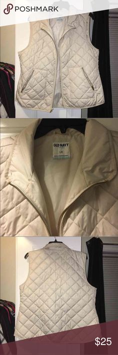 Old navy vest New and never worn. Removed tags (sorry!) originally $30 Old Navy Jackets & Coats Vests
