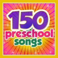 Preschool music and songs. Teach preschool with early childhood, nursery rhymes and 150 Preschool learning songs for children Preschool Music, Preschool At Home, Preschool Curriculum, Preschool Lessons, Preschool Kindergarten, Teaching Music, Preschool Learning, Early Learning, Preschool Activities