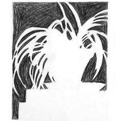 negative-space-drawing-exercise   High school art lesson plan