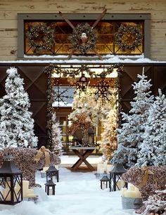 httpkeepmehappytumblrcom outdoor christmas christmas tree