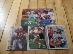 Chris Chandler 5 Card Lot Topps Fleer Mystique Pro Set Collector's Edge Falcons | eBay