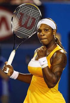 Serena Williams shows her passion for tennis. She is ranked again in 2013 Serena Williams Photos, Serena Williams Tennis, Venus And Serena Williams, Serina Williams, Wonder Twins, Professional Tennis Players, Tennis Workout, Tennis Tops, Tennis Players Female