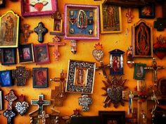 Crammed with little treasures. Patzcuaro Mexico.