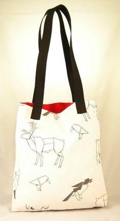 Tote Bag, Beutel, Tasche Origami