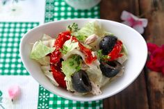 Diet Salad With Dried Tomatoes Recipe