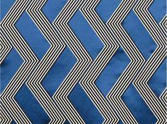 Tissu à motifs graphiques pour rideaux FUNKY STRIPES by Dedar