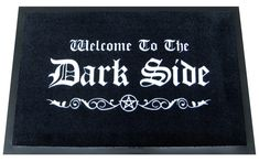 Amazon.com: WELCOME TO THE DARK SIDE DOORMAT: Home & Kitchen
