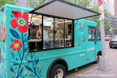 The Uprooted Flower Truck, NYC's First Florist on Wheels (Untapped Cities)