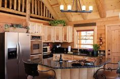 Check out this 628-square-foot cabin with its unbeatable rustic kitchen