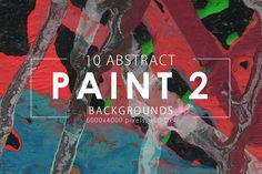 Abstract Paint Backgrounds Vol.2 example 1