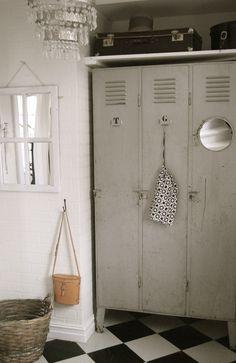 6th Street Design School | Kirsten Krason Interiors : Using Lockers in Your Decor