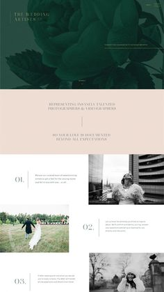 The Wedding Artists Co by Ashley & Malone Live! The Wedding Artists Co by Ashley & Malone Web Design Trends, Design Websites, Design Ios, Interface Design, Flat Design, Website Design Inspiration, Layout Inspiration, Layout Design, Web Layout