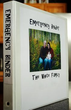 To DO this summer: Family emergency binder (store passports, birth and marriage certificates, SS cards, health records, emergency contacts. Keep in safe place and easy access in case of fire or emergency evacuation. See template GREAT IDEA Family Emergency Binder, In Case Of Emergency, Mrs Always Right, Ideas Para Organizar, Emergency Preparedness, Emergency Kits, Emergency Preparation, Emergency Planning, Emergency Supplies