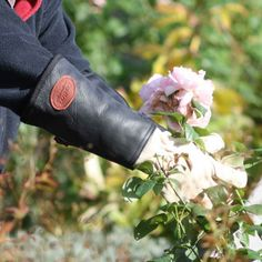 The best garden protection you can get with Leather Gauntlets garden gloves from Harrod Horticultural garden accessories. http://www.harrodhorticultural.com/garden-accessories-tcid139.html