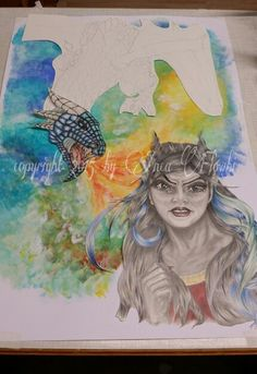 WiP (work in pogress) DIN A 2 Copyright 2015 by Anca Flowbi