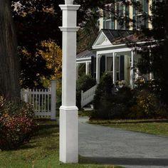 "New England Arbors Sturbridge 74"" Lantern Post"
