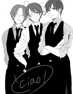 Italy, Romano and Seborga~~  I own nothing. (except my great memories from visiting Italy and Seborga. that's all.)