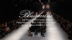 Blumarine Fall Winter 2015/16 Milan Fashion Week LIVE Streaming - http://www.bestfashionweek.com/fashionweek/blumarine-fall-winter-milan-fashion-week-live-streaming.html -