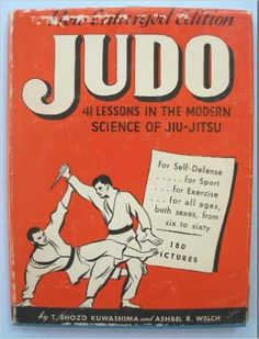 judo old book