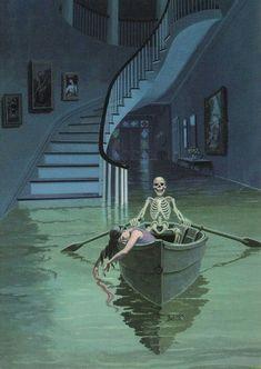 to console those broken by life – Finanzen Arte Horror, Horror Art, Horror Films, Dark Fantasy, Fantasy Art, Arte Peculiar, Arte Obscura, Creepy Art, Book Cover Art