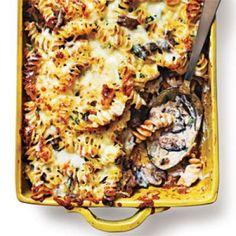 Wild Mushroom Pastitsio Recipe | CookingLight.com