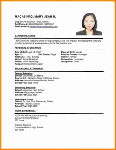 first job resume format Example Of Resume For Applying Job. First Job Resume Template . Simple Resume Sample, Basic Resume Format, Cv Resume Sample, Format Cv, Resume Writing Samples, Resume Format Examples, Resume Format Download, Job Resume Samples, Resume Template Examples