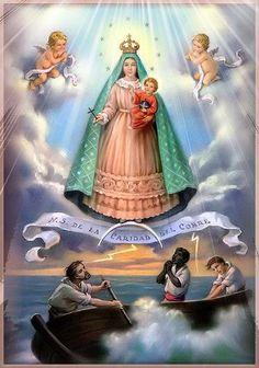 .La Virgen de la Caridad