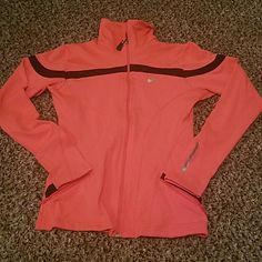 Nike jacket! Perfect condition. Just too small. Coral color and stretchy material Nike Other