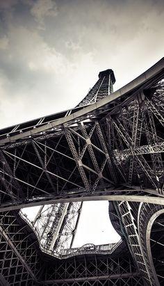 Eiffel Tower on Behance ~Via Nili Epstein