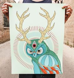Owl by David Cook Pinned by www.myowlbarn.com
