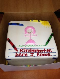 Pre-K Graduation Pins | Preschool graduation cake