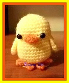 pulcino chick amigurumi crochet