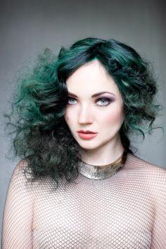 Зеленые волосы. Очень любопытный тренд